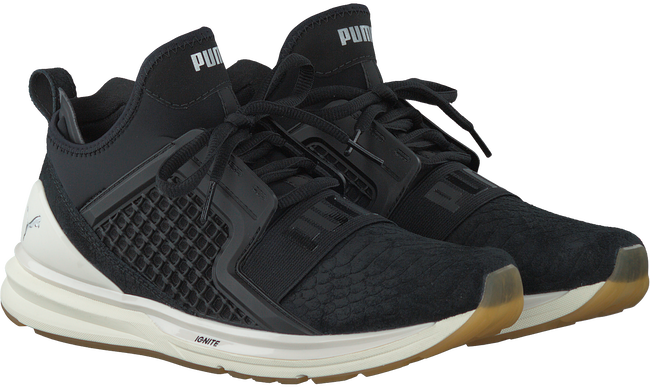 Schwarze PUMA Sneaker IGNITE LIMITLESS REPTILE - large