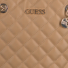Beige GUESS Umhängetasche ILLY SOCIETY SATCHEL  - small