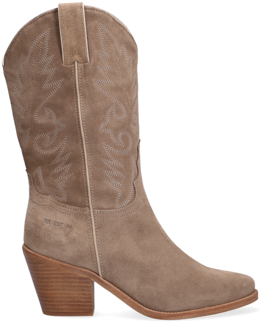 Beige RED-RAG Hohe Stiefel 77088  - large