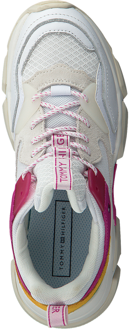 Weiße TOMMY HILFIGER Sneaker WMNS CHUNKY SNEAKER  - large