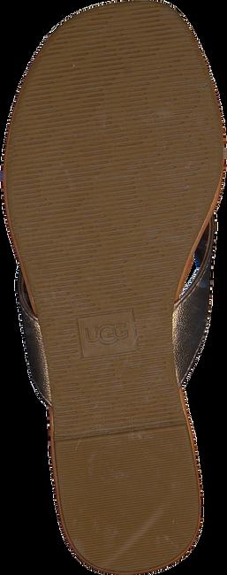 Bronzefarbene UGG Pantolette W TUOLUMNE  - large
