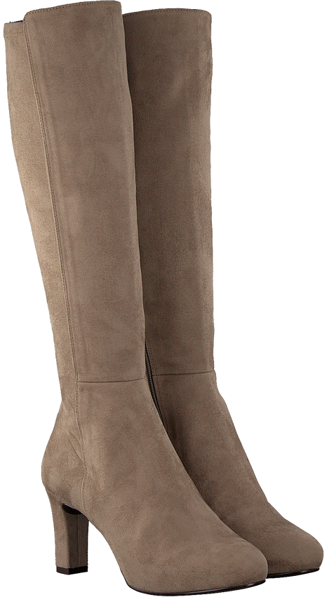 Taupe UNISA Hohe Stiefel NATALIE  - larger