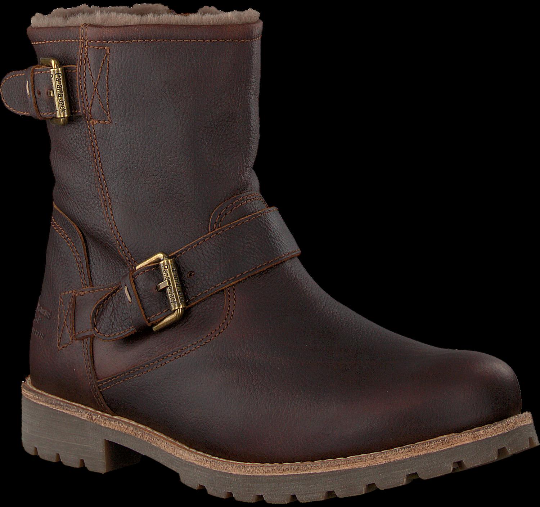 4618dd0996f1bf Braune PANAMA JACK Ankle Boots FAUST IGLOO C20 - Omoda.de
