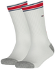 Weiße TOMMY HILFIGER Socken TH KIDS ICONIC SPORTS SOCK 2P - small