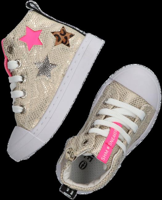 Goldfarbene SHOESME Sneaker low SHOESME  - large