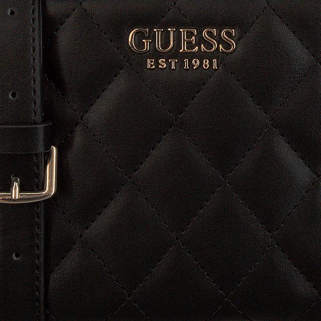 Schwarze GUESS Handtasche SWEET CANDY MINI XBODY TOP ZIP  - large