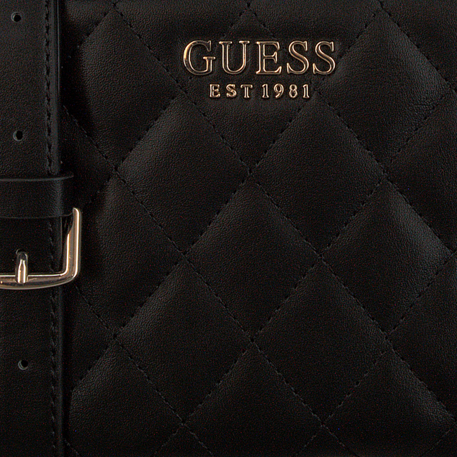 Schwarze GUESS Handtasche SWEET CANDY MINI XBODY TOP ZIP  - large