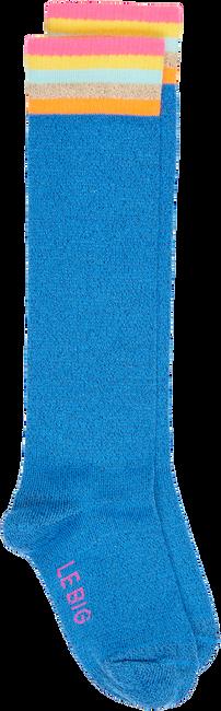 Blaue LE BIG Socken NISA KNEE HIGH  - large