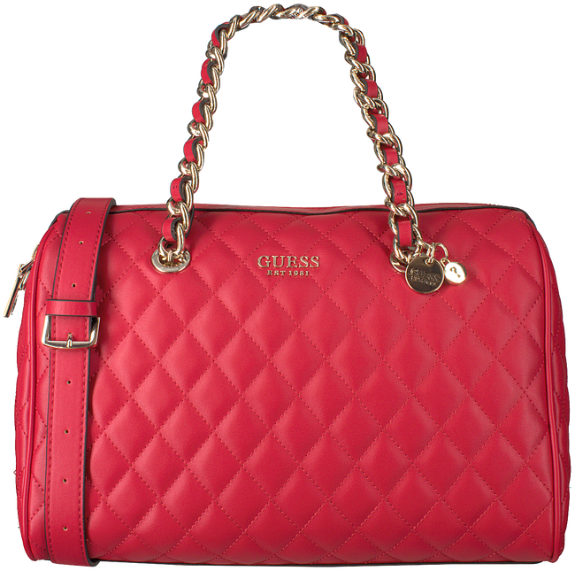 Rote GUESS Handtasche SWEET CANDY LARGE SATCHEL  - large