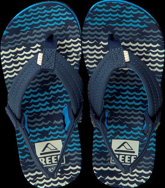 Blaue REEF Zehentrenner AHI - large