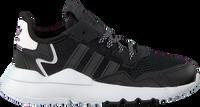 Schwarze ADIDAS Sneaker low NITE JOGGER C  - medium