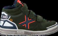 Grüne MUNICH Sneaker high G3 BOOT VELCRO  - medium