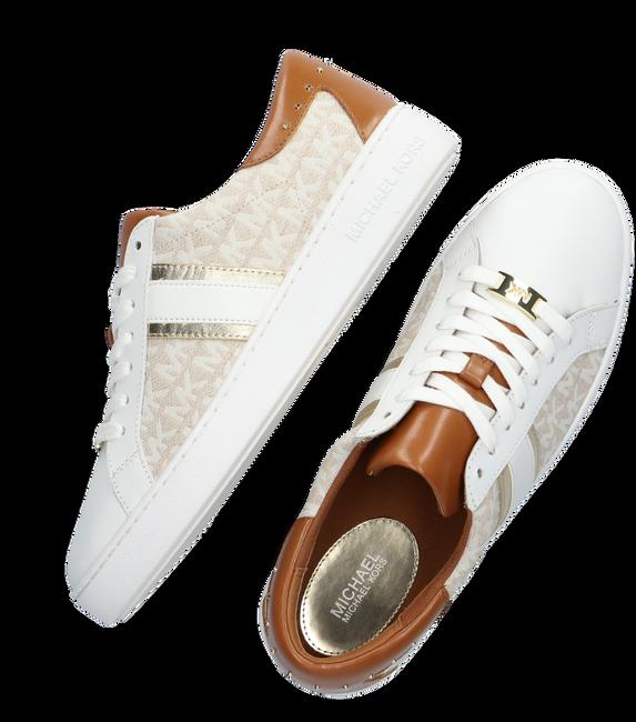 Weiße MICHAEL KORS Sneaker KEATON STRIPE SNEAKER  - large