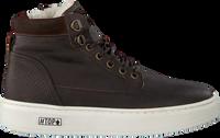 Braune OMODA Sneaker high O2586  - medium
