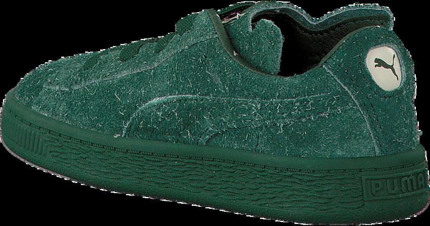 Grüne PUMA Sneaker PUMA X TC BASKET FURRY - larger