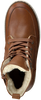 Cognacfarbene GIGA Ankle Boots 8833 - small