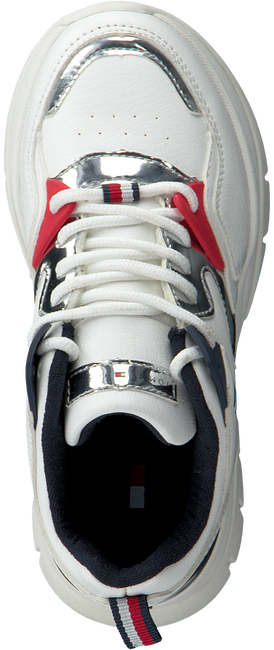 Weiße TOMMY HILFIGER Sneaker low 30821  - large