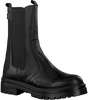 Schwarze HABOOB Ankle Boots P6720  - small