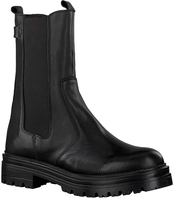 Schwarze HABOOB Ankle Boots P6720  - large