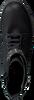 Schwarze CLIC! Schnürstiefel 9244 - small