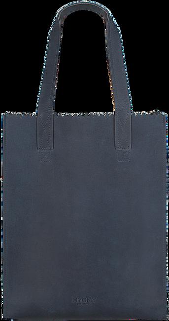 Blaue MYOMY Handtasche LONG HANDLE ZIPPER - large