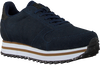 Blaue WODEN Sneaker low YDUN PEARL II PLATEAU  - small