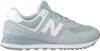 Graue NEW BALANCE Sneaker low WL574  - small