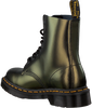 Goldfarbene DR MARTENS Schnürboots 1460 PASCAL  - small