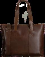 Braune MYOMY Handtasche WRAPPED WORKBAG  - medium