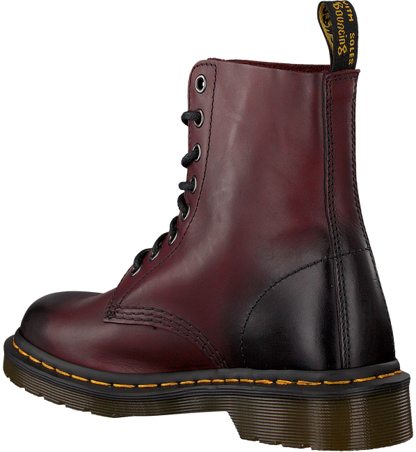 Rote DR MARTENS Schnürboots PASCAL - large