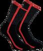 Rote MARCMARCS Socken DEBORAH COTTON - small