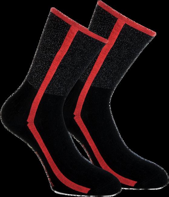 Rote MARCMARCS Socken DEBORAH COTTON - large