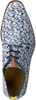 Blaue REHAB Business Schuhe GREG PIXELMANIA  - small