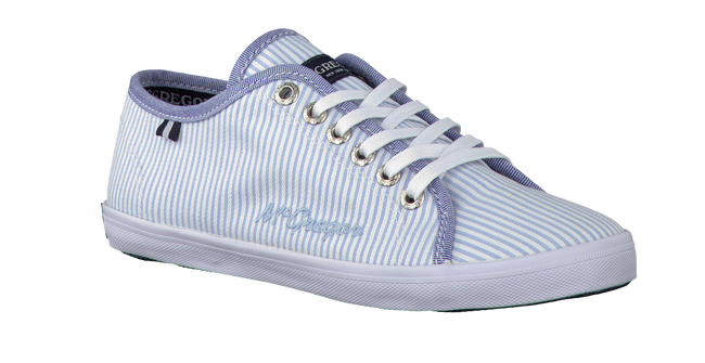 Blaue MCGREGOR Schnürschuhe COLLEGE LACE UP KIDS - large