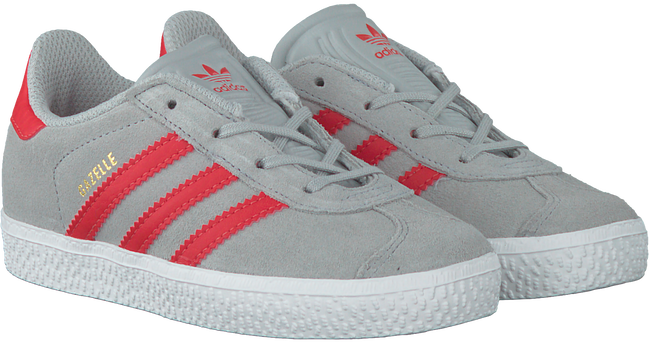 Graue ADIDAS Sneaker GAZELLE KIDS - large