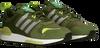 Grüne ADIDAS Sneaker low ZX 700 HD MEN  - small