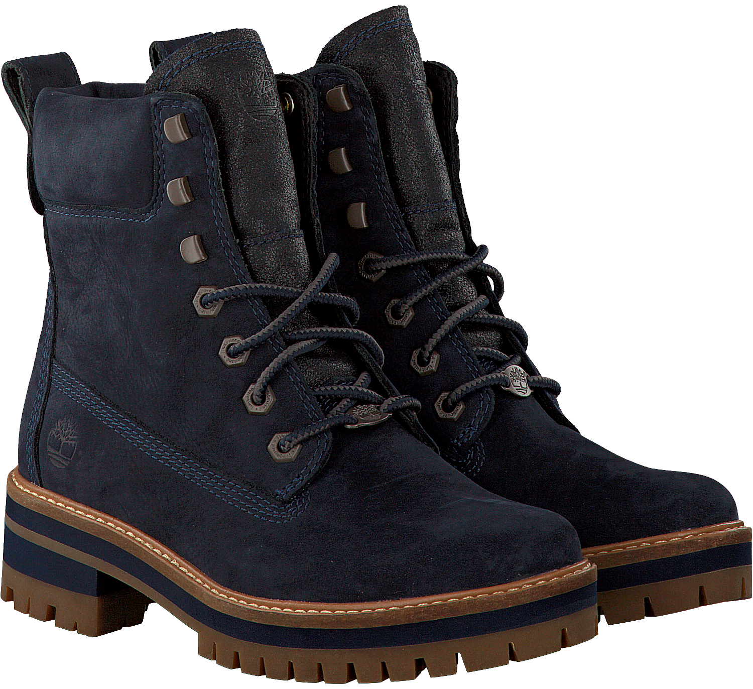 blaue timberland ankle boots courmayeur valley yb schuhmode online. Black Bedroom Furniture Sets. Home Design Ideas