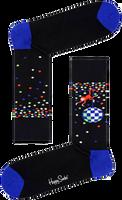 Schwarze HAPPY SOCKS Socken DISCO MONKEY  - medium