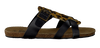 Schwarze BULLBOXER Zehentrenner AFS003 - small