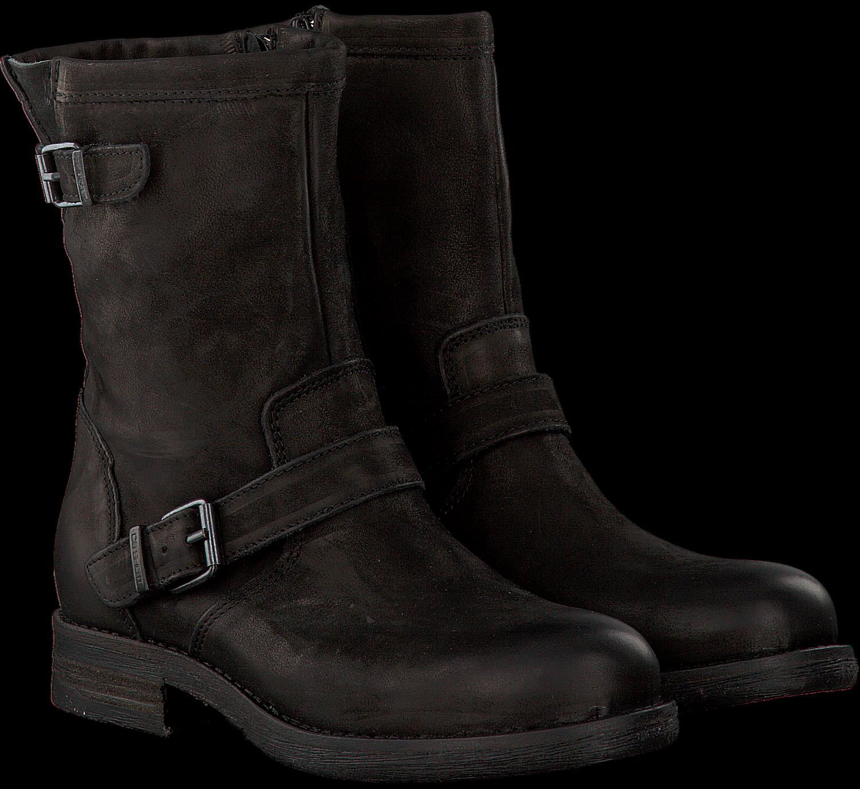 845c8dff781814 Schwarze CA SHOTT Biker Boots 18013 - Omoda.de