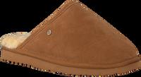 Cognacfarbene WARMBAT Hausschuhe CLASSIC UNISEX SUEDE - medium