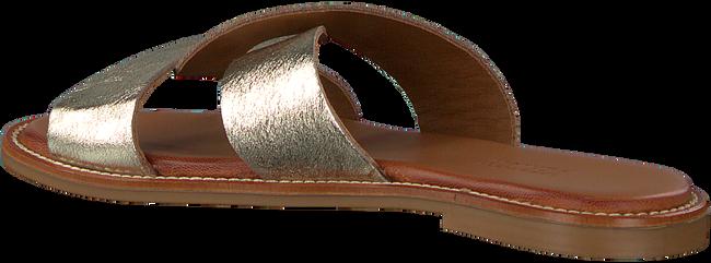Goldfarbene VERTON Pantolette T-10160  - large