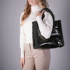 Schwarze STAND STUDIO Handtasche LOLITA BAG  - small