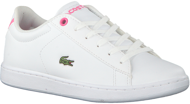 Weiße LACOSTE Sneaker CARNABY EVO BL  - large