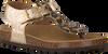 Goldfarbene KIPLING Sandalen LULU - small