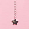 Silberne ALLTHELUCKINTHEWORLD Kette FORTUNE NECKLACE STAR - small