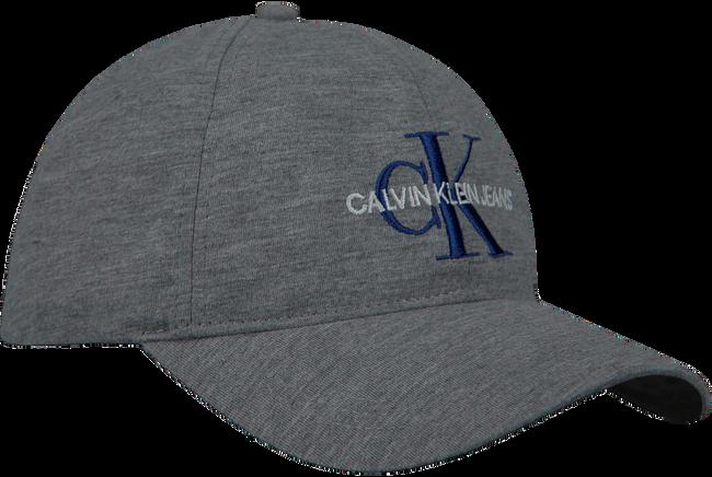 Graue CALVIN KLEIN Kappe J MONOGRAM CAP M  - large