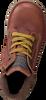 Cognacfarbene SHOESME Schnürschuhe DE9W096  - small