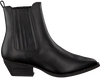 Schwarze DEABUSED Chelsea Boots 7276 - small