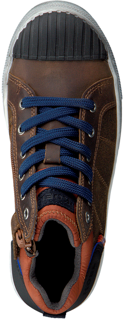 Cognacfarbene KOEL4KIDS Sneaker high KO896-AL-02  - large